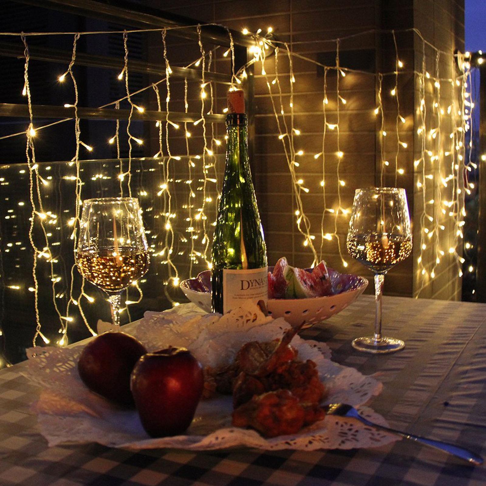 3Mx3M 300 LED Curtain Net Light Christmas Party Wedding ...