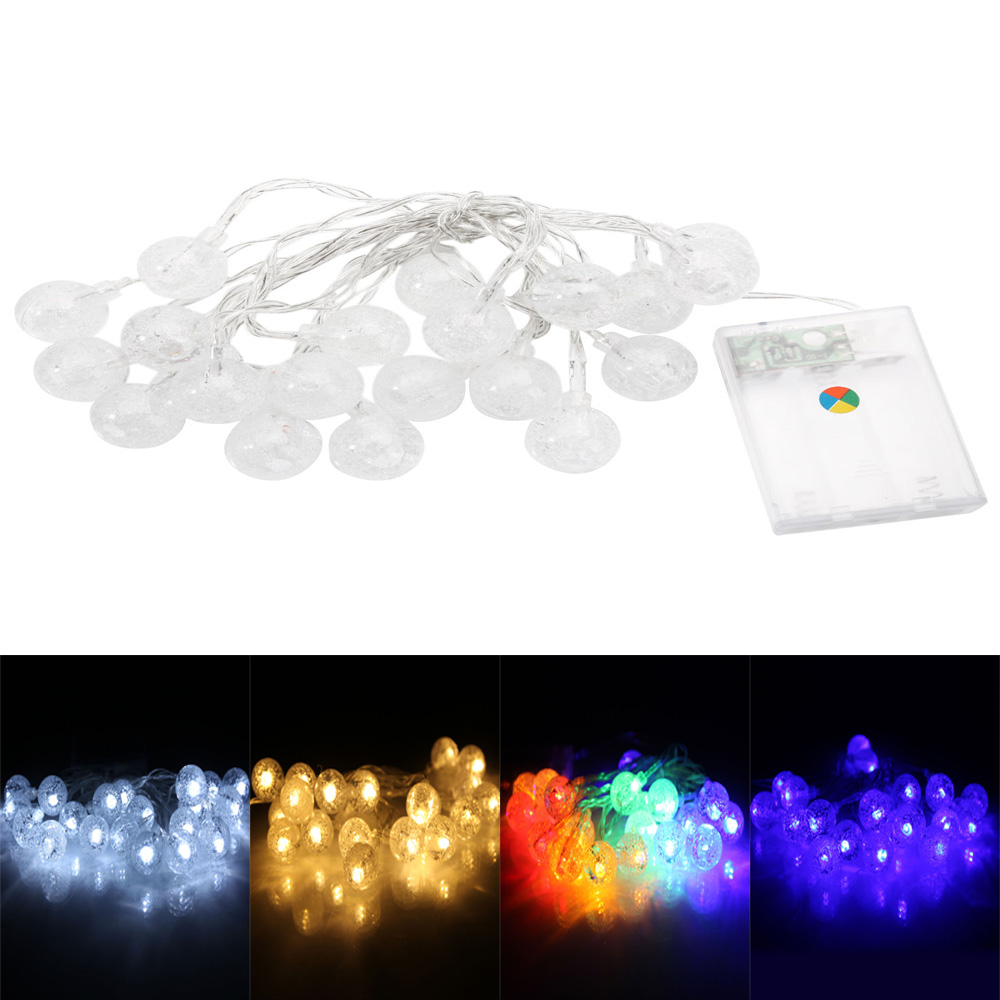 Solar Battery 20/50/100 LED Fairy String Light Xmas Christmas Party 17 Patterns eBay