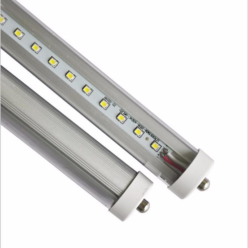 Fluorescent Light Sound: 5-50Pack FA8 8Ft LED Tube Light Lamp Warm Cold Single Pin